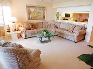 Living Room - The Club at Naples Cay 503 - Naples - rentals