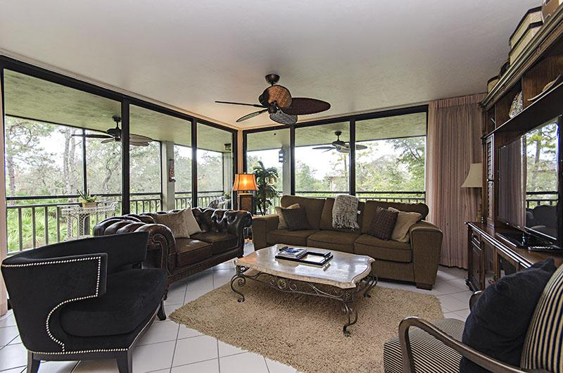 Living Room - Wild Pines in Bonita Bay 203A - Bonita Springs - rentals