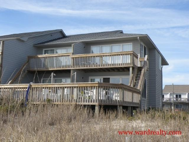 Oceanfront Exterior - Wading For You - Surf City - rentals