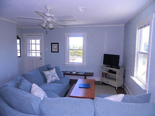 Living Room, View 01 - Simple Pleasure - Topsail Beach - rentals