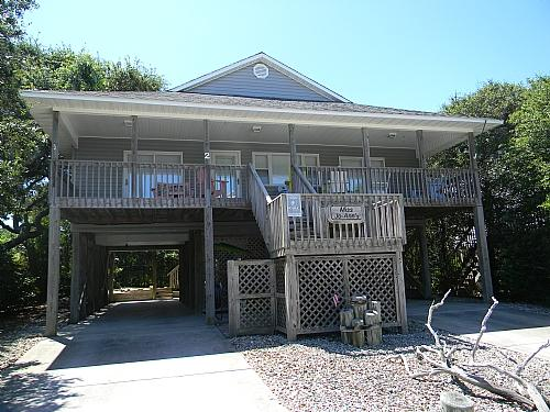 House Front - Miss Jo-Ann's - Surf City - rentals