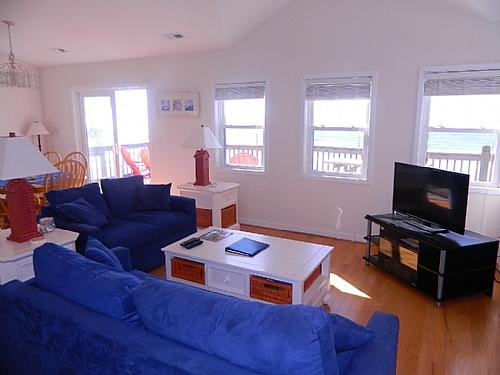 Living Area, View 01 - Seafoam - Surf City - rentals