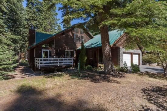 Exterior of Home - Kimball Tahoe Vacation Cabin - Hot Tub - Agate Bay - rentals