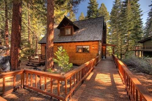 Jerves North Tahoe Vacation Rental Cottage - Image 1 - Agate Bay - rentals