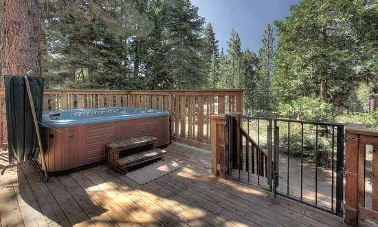 Mullin North Lake Tahoe Vacation Rental - Hot Tub - Image 1 - Tahoe Vista - rentals