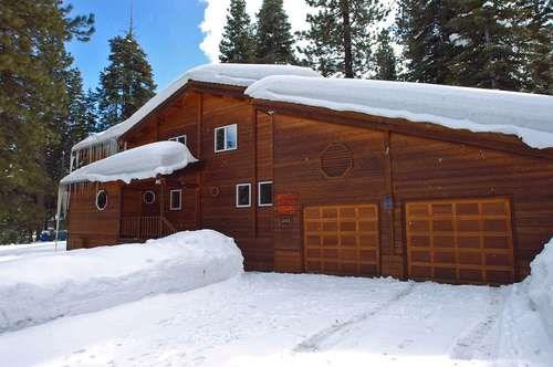 Exterior of Home - Winter - Thompson Tahoe Luxury Vacation Rental - Hot Tub - Carnelian Bay - rentals