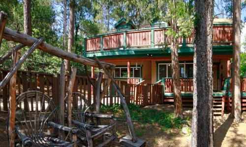 4 Bedroom,2 bath, Sleeps 8,Wifi, Pets Ok: Wood burning fireplace,granite counters,walk to village - Daly's Tranquillity - Idyllwild - rentals