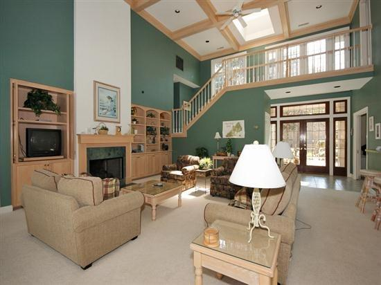 Spacious Living Room at 12 Wood Ibis - 12 Wood Ibis - Hilton Head - rentals