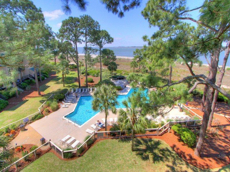 Beautiful Views of the Calibogue Sound at 1877 Beachside Tennis - 1877 Beachside Tennis - Hilton Head - rentals