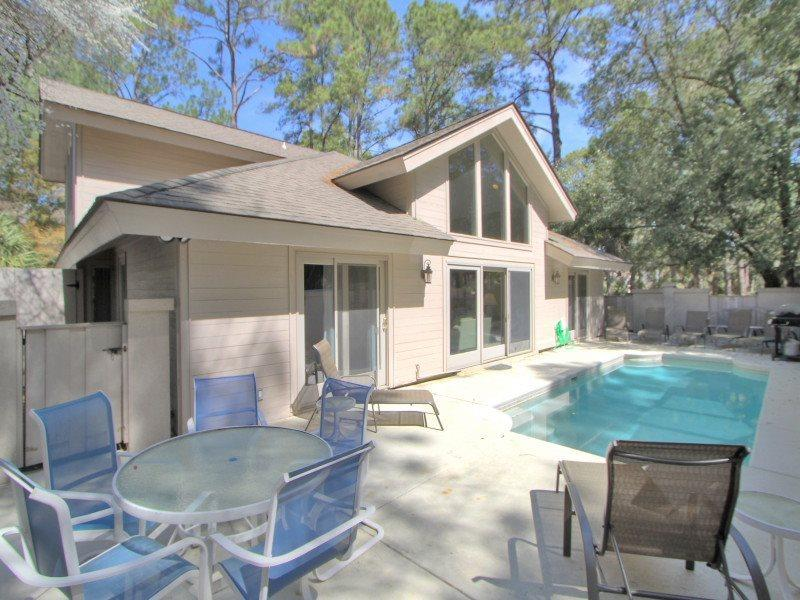 1 Gadwall - Enclosed Pool Area - 1 Gadwall - Hilton Head - rentals