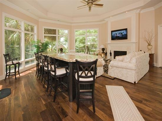 Great Room with Flat Screen at 20 Sandhill Crane - 20 Sandhill Crane - Hilton Head - rentals