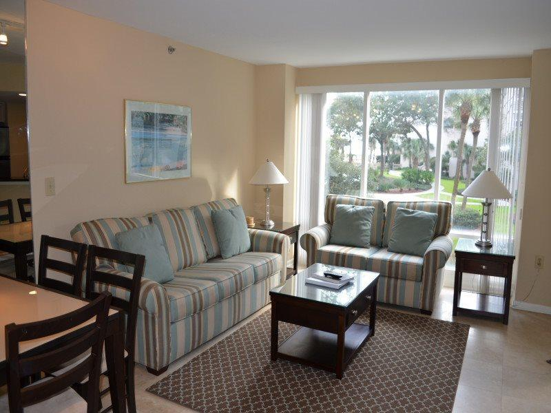 Living Room at 2112 Villamare - 2112 Villamare - Hilton Head - rentals