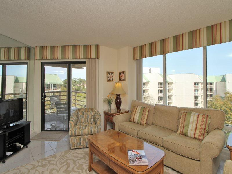 Living Room at 3521 Villamare - 3521 Villamare - Hilton Head - rentals