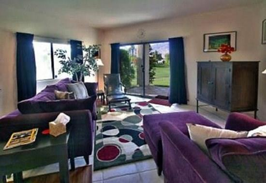 Looking Through Living Room  - Desert Princess One Bedroom #279 - Palm Springs - rentals