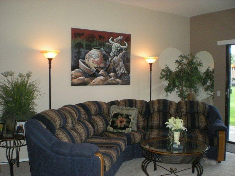 Living Room Sofa  - Desert Princess Two Bedroom #478 - Palm Springs - rentals