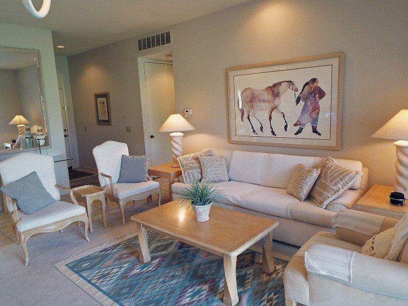 Comfortable Living Room  - Desert Princess Two Bedroom #755 - Palm Springs - rentals