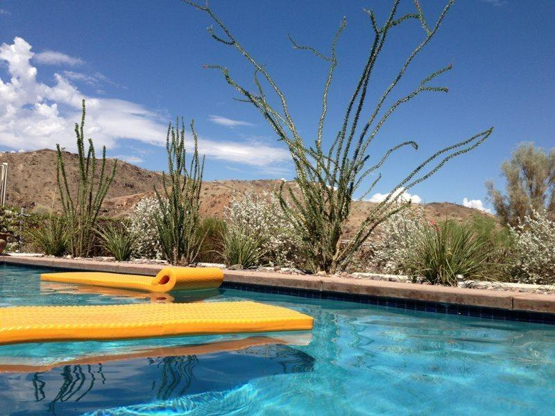 Pool View from Patio Area - A Pool House for Nature Lovers - Cathedral City - rentals