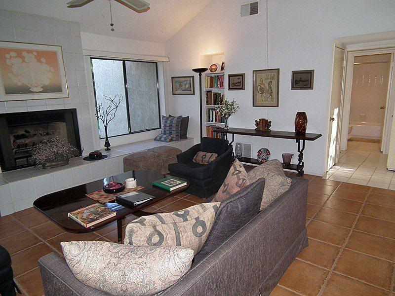 Cozy Fire Place In Living Room  - Portola Village One Bedroom + Den #238 - Palm Desert - rentals