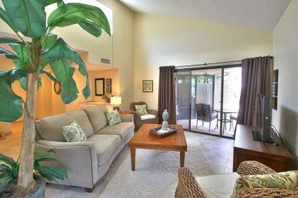 Living Room  Private Patio  - Desert Village Two Bedroom #806 - Rancho Mirage - rentals