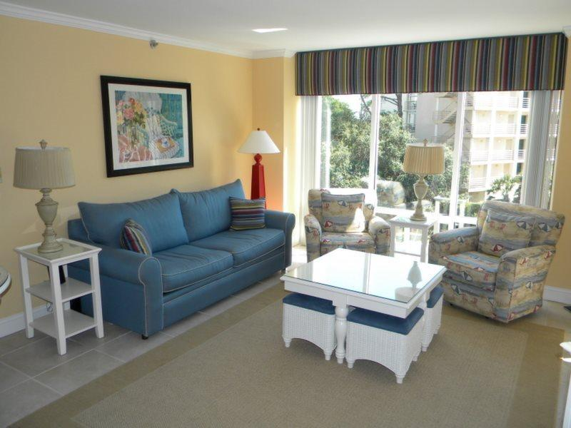 Living Room at 2315 Villamare - 2315 Villamare - Hilton Head - rentals