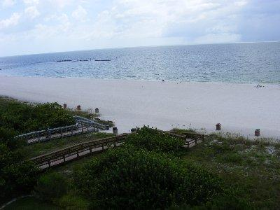 View from balcony. - Apollo 505 - Apollo Condominium - Marco Island - rentals