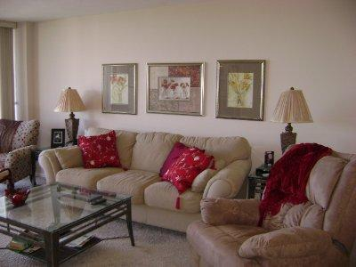 Living Room - SST2-308 - South Seas Tower - Marco Island - rentals