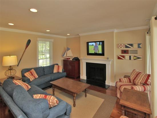 Living Room at 15 Lands End Road - 15 Lands End Road - Hilton Head - rentals