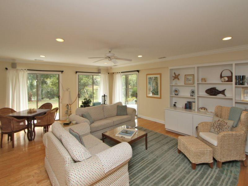 Open Living Room at 63 South Sea Pines Drive - 63 South Sea Pines Drive - Hilton Head - rentals