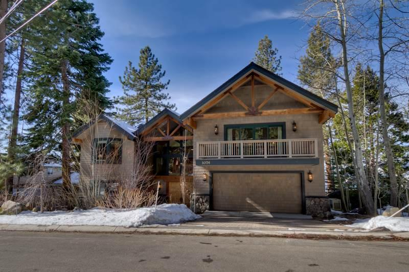 Stunning Lakefront Home with Unmatched Lake Views, Private Beach and Buoy (SK06) - Image 1 - Zephyr Cove - rentals