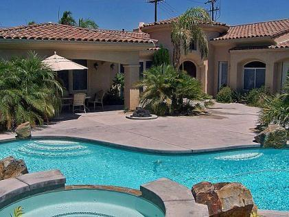 Pool  Spa in Front of Home  - H-Alhambra Luxury - Palm Springs - rentals