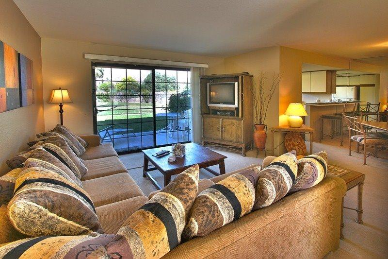Looking Into Living Room  - Mesquite Country Club One Bedroom #N79 - Palm Springs - rentals