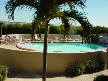 pool - Coquina Moorings - Bradenton Beach - rentals