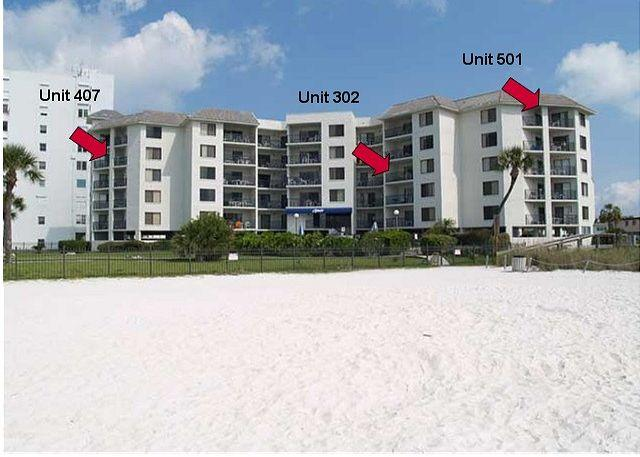 Beachfront condominium located directly on the Gulf of Mexico in St Pete Beach - Caprice #302 - Saint Pete Beach - rentals