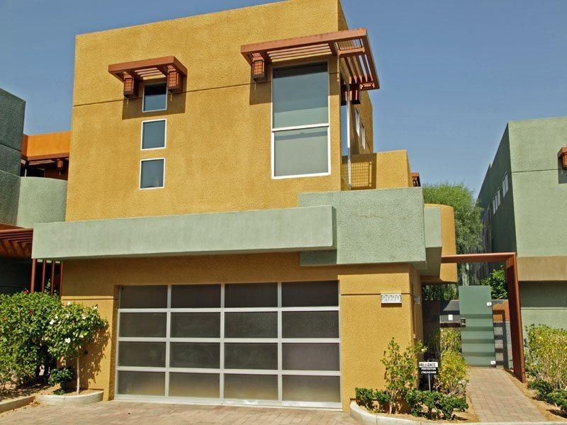 Front of Tangerine Modern Home - H-Tangerine Modern - Palm Springs - rentals