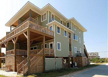 SN9615A- Beachwater North; 4BDRM OCEANFRONT HOME! - Image 1 - Nags Head - rentals