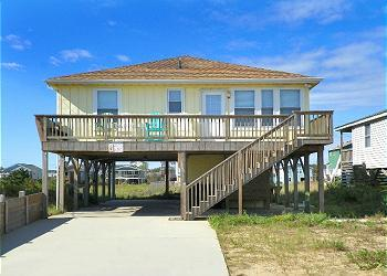 KH3712- BEACH BOUND; 4BDRM SEMI-OF WITH HOT TUB! - Image 1 - Kitty Hawk - rentals