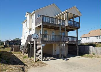 KD3320- Judy In The Sky; SEMI-OCEANFRONT W/ POOl! - Image 1 - Kill Devil Hills - rentals