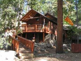 Brookhill Custom Cabin once owned by Dinah Shore - Image 1 - Idyllwild - rentals