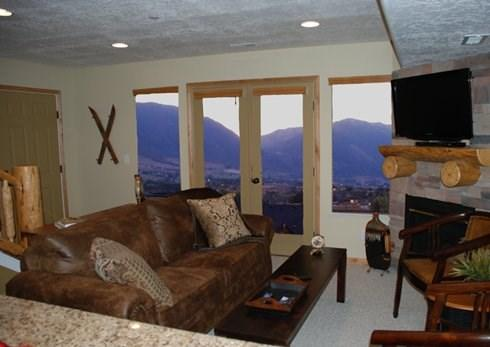 Living Room at Moose Hollow Vacation Rental - Views, Views and more Views. - Eden - rentals