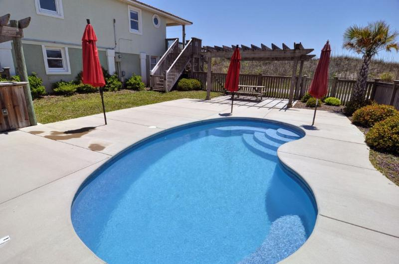 Pool and Home - Island Drive 3658 - North Topsail Beach - rentals