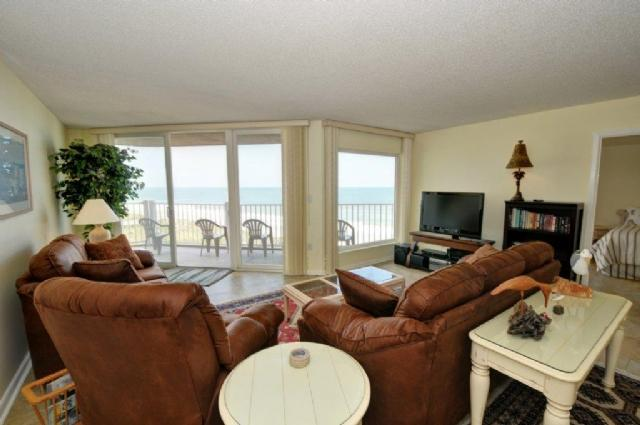 Living Room - St. Regis 3409 - North Topsail Beach - rentals