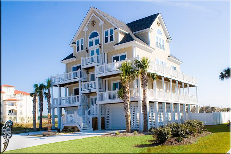 764 New River Inlet Rd - New River Inlet Rd 764 Oceanfront! | Private Heated Pool, Hot Tub, Elevator, Jacuzzi, Internet, Fireplace - North Topsail Beach - rentals