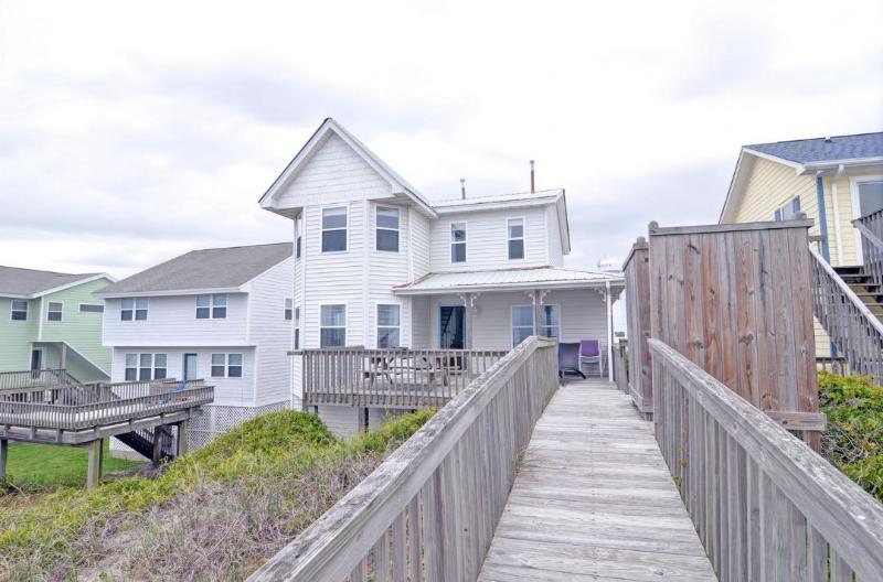 From ocean - S. Shore Drive 204 - Surf City - rentals