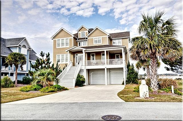 Street View - Sailview Drive 35 Sound View! | Community Pool, Jacuzzi, Elevator, Fireplace - North Topsail Beach - rentals