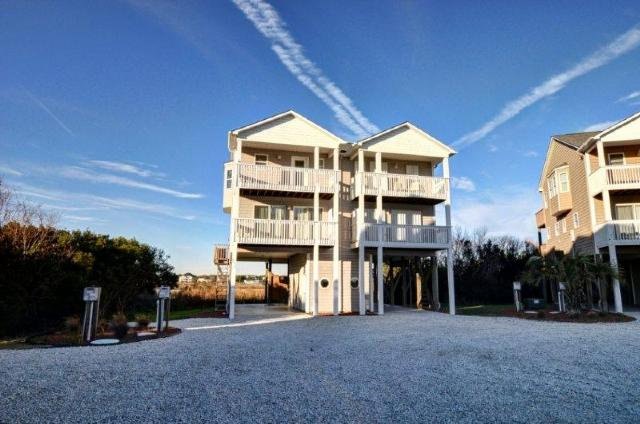 Main View - Pinellas Bay 211 Oceanview! | Jacuzzi, Internet - North Topsail Beach - rentals