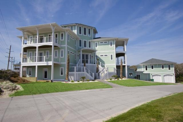 99 Oleander Court - Oleander Ct. 99 Oceanview! | Private Heated Pool, Hot Tub, Elevator, Jacuzzi, Internet, Fireplace, Game Equipment, Pet Friendly, Wedding Friendly - Surf City - rentals