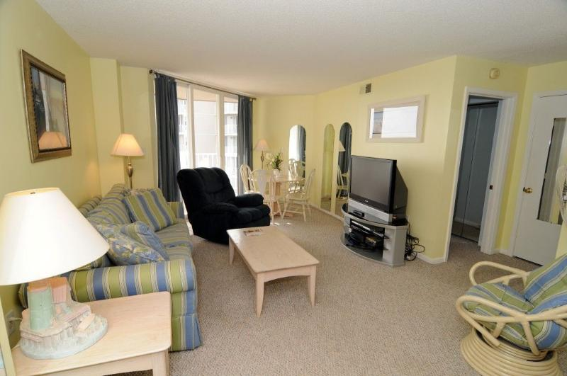 Living Room - St. Regis 2303 - North Topsail Beach - rentals