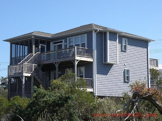 Soundside Exterior - Sea-ze-the-Day - United States - rentals