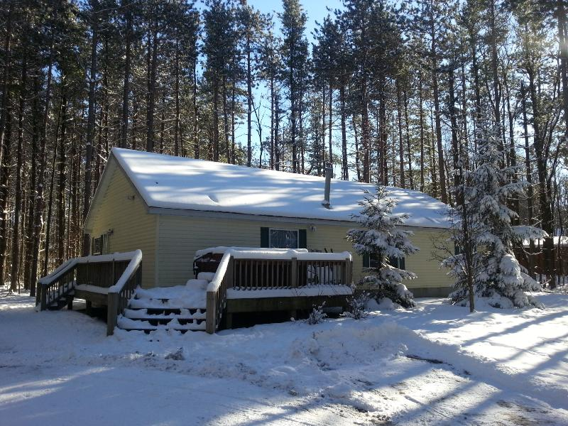 Exterior - Winter - Nestled in Tall Pines,dock slip at Deep Creek Lake - Oakland - rentals