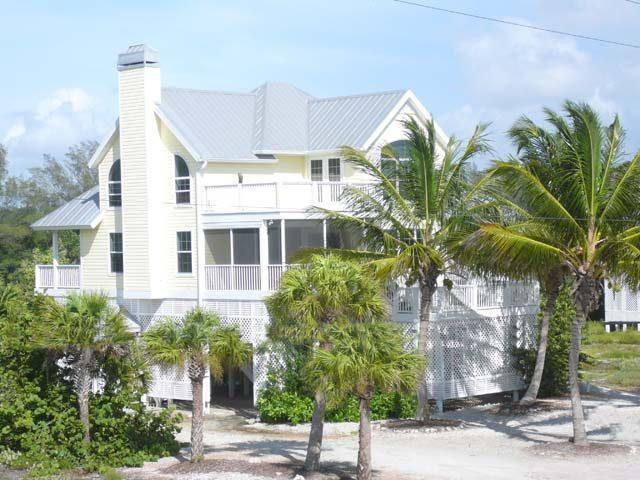Exterior Front - Surf Song Home - Placida - rentals